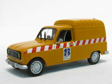"wonderful RENAULT 4R PANEL VAN  ""SERVICE AUTOROUTE"" 1986 - 1/43 - lim.edition"