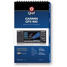 Garmin GPS 400 Quick Reference Checklist Book by Qref