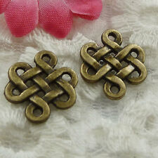 Free Ship 270 pieces bronze plated cute connector 17x14mm #802