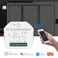 Tuya Smart Life WiFi Curtain Switch Module For Roller Shutter Blind Motor Home