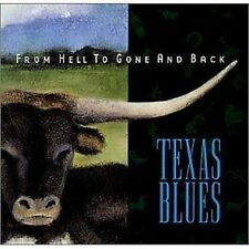 From Hell To Gone And Back Texas Blues CD NEW SEALED 2002 Lightnin' Hopkins+