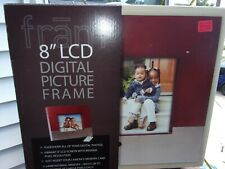 Digital Picture Frame 8-Inches by Frame 88x600 Pixel New in Box $74.98