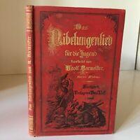 Das Nibelungenlied Für Die Jugend Bearbeitet Von Bacmeister Adolf Neff 1886