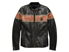 Lederjacke, Victory Lane, Harley-Davidson, Schwarz