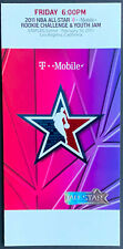 2011 NBA All Star Basketball Friday Night Rookie Game Ticket Staples Center