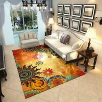 Modern Printed Floor Area Rug Living Room Bedroom Hallway Door Anti-slip Mat