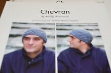 Woolly Wormhead Hat Knitting Pattern Chevron