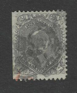 USA Scott # 70A Weak Guideline Shows at Left SE Used Stamp US Cat $325