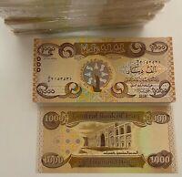 Banknote: IQD - IRAK - 1.000 DINAR - UNC - neu, bankenfrisch - 2018