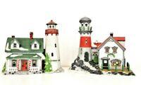 Department 56 NE Village Series Pigeonhead & Craggy Cove Lighthouse No Box
