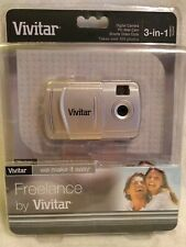 Vivitar Freelance Digital Camera 3 In 1 Pc Web Cam Video Clips 100+ Photos New