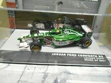 F1 JAGUAR Ford Cosworth R2 Brazil GP 2001 #19 Burti HSBC Beck IXO Altaya SP 1:43