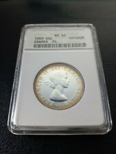 1959 Canada 50 Cents ANACS MS 66 Proof Like