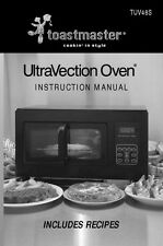 Toastmaster Tuv48S Ultravection Oven Owners Manual