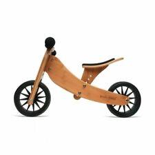 Kinderfeets Tiny Tot 2-in-1 Convertible Wooden Balance Bike - Bamboo