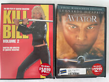 Dvd Lot Action Movies Set Of 2 Kill Bill And The Aviator