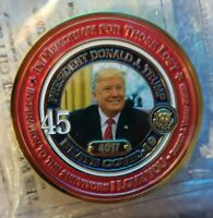 President Donald J Trump Beat Defeats Co Vid Virus Limited Edition Coin Giannini