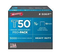 Arrow 506IP T50 3/8in. ProPack Staple 5,000/Box