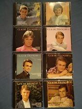 8 CD  ALBUMS CLAUDE FRANCOIS 10 ANS DE CHANSONS 1962-1972