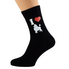 Me encanta Caniches Diseño Calcetines para hombre Caniche dueños de perros UK Size 5-12 X6N086