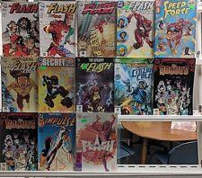 Flash Comics Huge 13 Comic Book Lot Collection Set Run Books Box 5