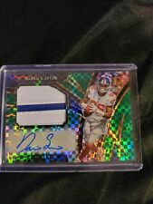 2019 Select RPA Darius Slayton /5 EMERALD Auto &  Patch! BeaUTIFUL Card!