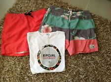 Teen boys clothing - Ripcurl, Quiksilver, Ghanda, Hurley & Billabong, Size 14-16