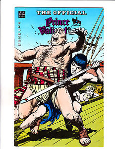 """Official Prince Valiant No16 1989-Strip Reprints Soft Cover-""""Fight Cover! """""""