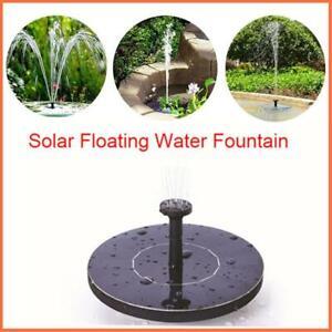 MINI Solar Powered Floating Bird Bath Water Panel Fountain Pump