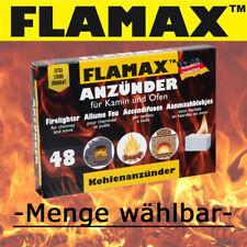 Flamax/Drachenfeuer Kamin- und Ofenanzünder 48er Pack - Menge wählbar -
