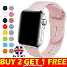 Silicone Sport Band Strap for Apple Watch Series 5 4 3 2 1 40mm 44mm 38mm 42mm