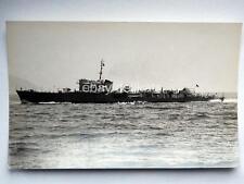 Nave ship Marina Militare ALISEO 1947 foto Fraccaroli