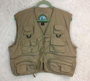 Master Sportsman Fishing Vest Size XL Men's Rugged Outdoor Gear Fly Fishing