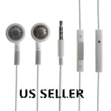 LOT Earphone EARBUDS Headset W/h Mic For iPhone 3G 4 4G 4S 5S 5C iPod Touch Nano