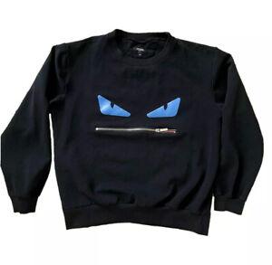 Fendi Unisex Bug Eyes Monster Sweater (Size M)