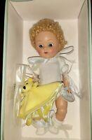 "Vogue Doll Ginny Crib Crowd Dress Me Blonde 7.5"" New in Box"