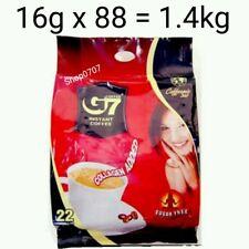88 x16g Vietnam Trung Nguyen G7 Instant Coffee 3 in 1 COLLAGEN ADDED SUGAR FREE