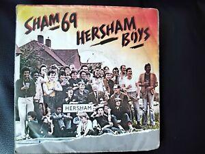 SHAM 69  HERSHAM BOYS RECORD SHAM 69