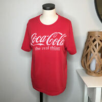 Old Navy Collectibles Womens Coca Cola Coke T Tee Shirt Medium Red Unisex Cut