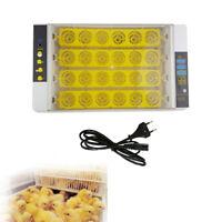 24 Eier Inkubator Vollautomatische Brutmaschine Motorbrüter Brutapparat