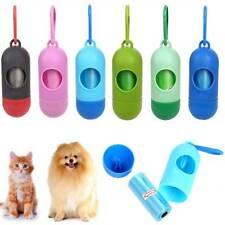Waste Poop Garbage Bags For Pet Dog Cat Pills Shape Roll Holder Dispenser Box