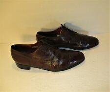 "Florsheim ""Royal Imperial"" Men's Burgundy Wingtip Brogue Dress Shoes-Sz-11.5D"