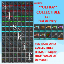 Murder Mystery 2 MM2 COLLECTIBLE Set 106  *ULTRA* rare ITEMS fast delivery godly