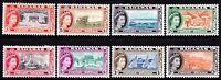 Bahamas 1954-63 QEII Pictorials 1/2d, 1d, 1 1/2d, 2d, 3d, 4d. 1s & 2s MH #4833