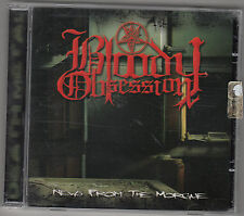 BLOODY OBSESSION - news from the morgue CD