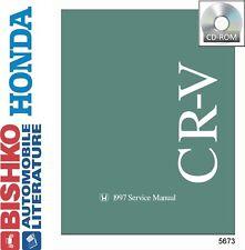 1997 Honda CR-V CRV Shop Service Repair Manual CD Engine Drivetrain Electrical