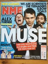 NME 15/03/08 Muse cover, MGMT, Los Campesinos, Billy Bragg