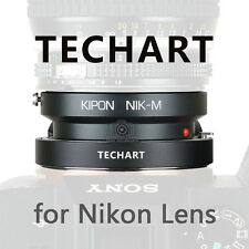 Kipon and TECHART auto foucs adapter for Nikon F mount lens to Sony A7II A7RII