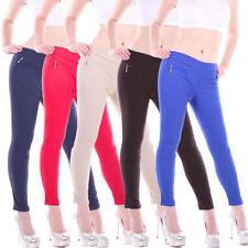Markenlose-Normalgröße Damenhosen im Stoffhose
