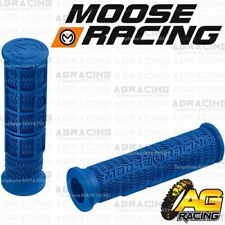 Moose Racing Stealth Thumb Throttle Grips Blue For Honda ATC TRX Models